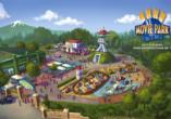 "Movie Park Germany in Bottrop, ""Adventure Bay"""