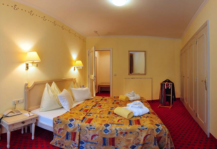 Hotel Elisabethpark in Bad Gastein im Salzburger Land, Zimmerbeispiel