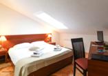 Hotel Park in Lovran, Kvarner Bucht, Zimmerbeispiel Mansarde