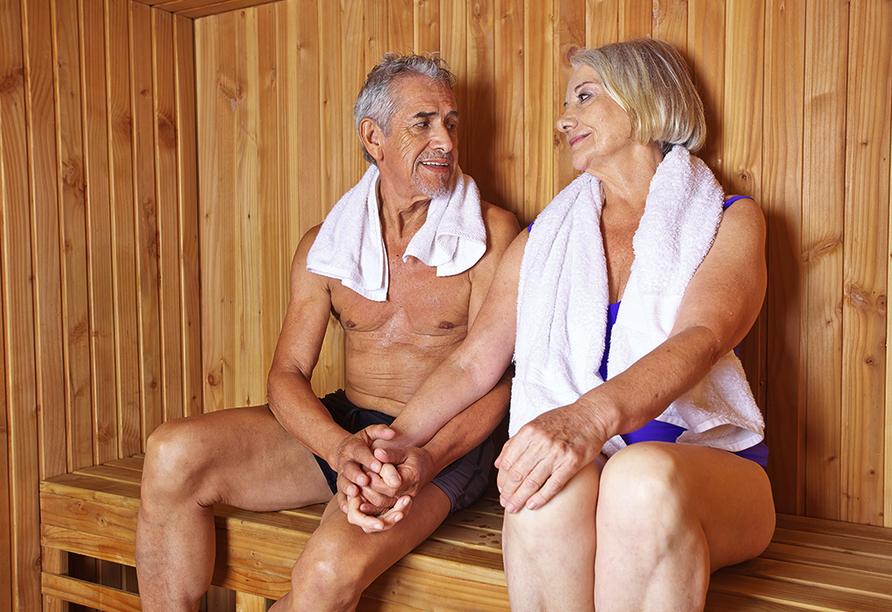 Hotel Am Kurpark Brilon, Sauna