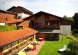 Landhotel Margeritenhof Drachselsried, Außenansicht