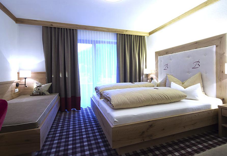 Hotel Berghof, Beispiel Doppelzimmer Komfort