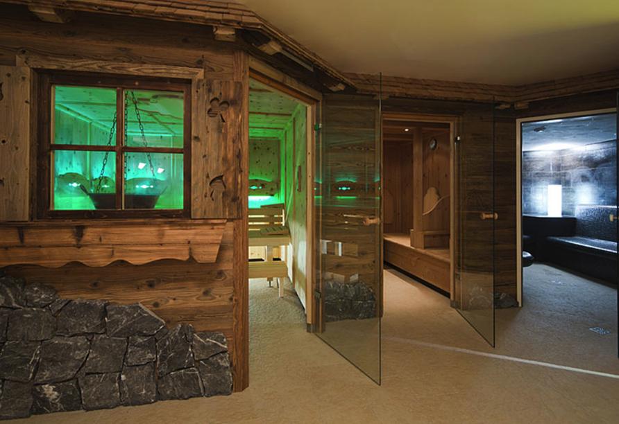 Hotel Berghof, Sauna