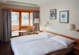 Hotel Strela in Davos Platz, Beispiel Doppelzimmer