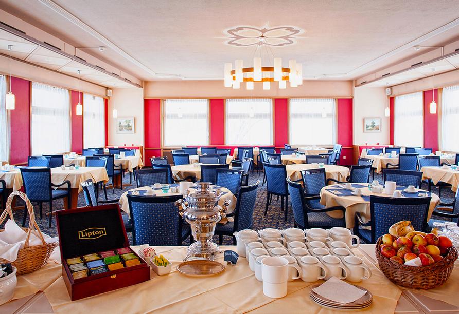 Hotel Strela in Davos Platz, Frühstücksraum