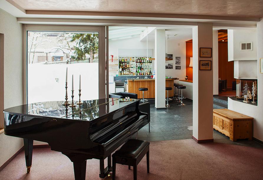 Hotel Strela in Davos Platz, Barbereich