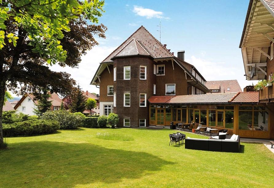 Hotel Der Hirschen in St. Märgen, Garten