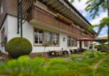 Hotel Der Hirschen in St. Märgen, Terrasse