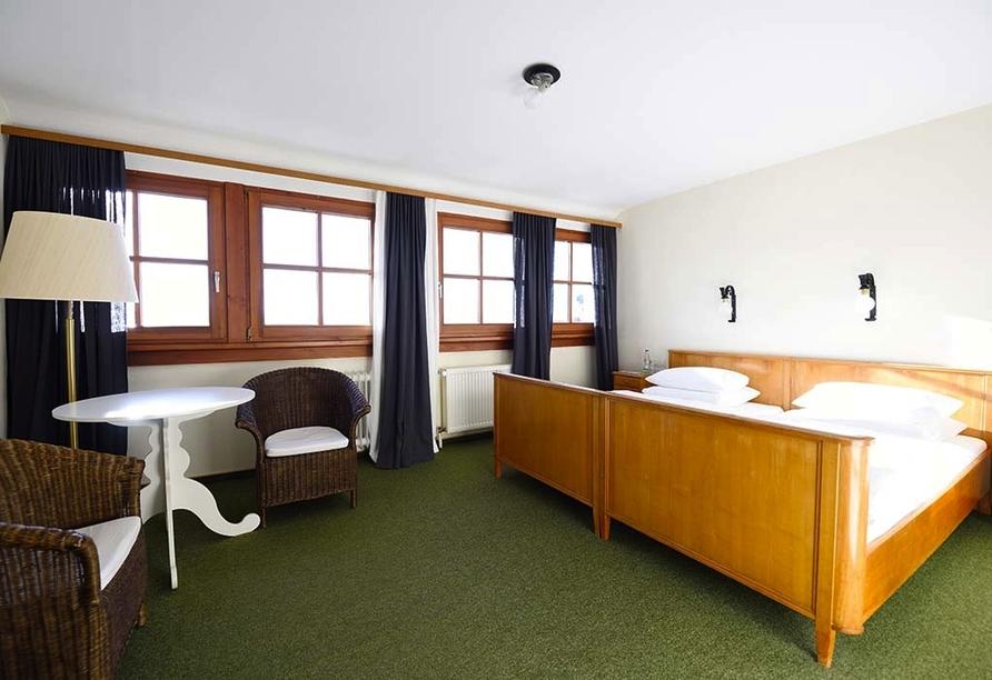 Hotel Der Hirschen in St. Märgen, Zimmerbeispiel