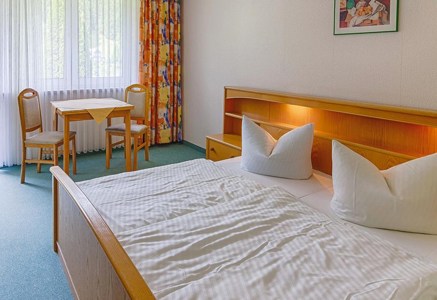 Berghotel Mellenbach in Mellenbach - Glasbach, Zimmerbeispiel ohne Balkon