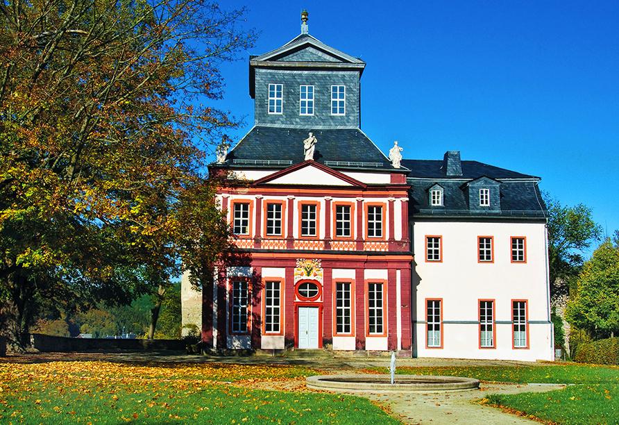 Berghotel Mellenbach in Mellenbach, Schloss Schwarzburg