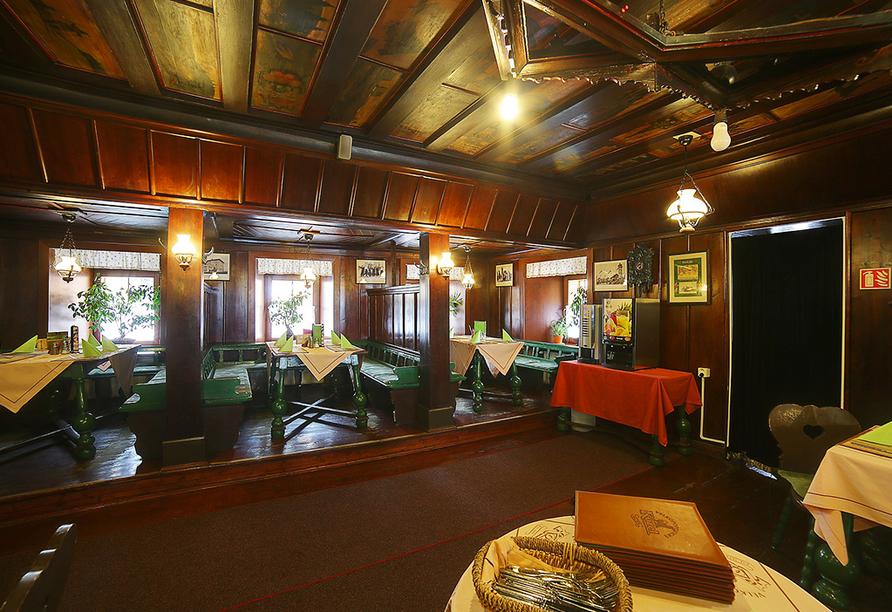 Hotel Grünes Haus in Gottesgab, Restaurant