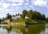 Hotel Carolinenhof in Bad Pyrmont, Schloss Pyrmont