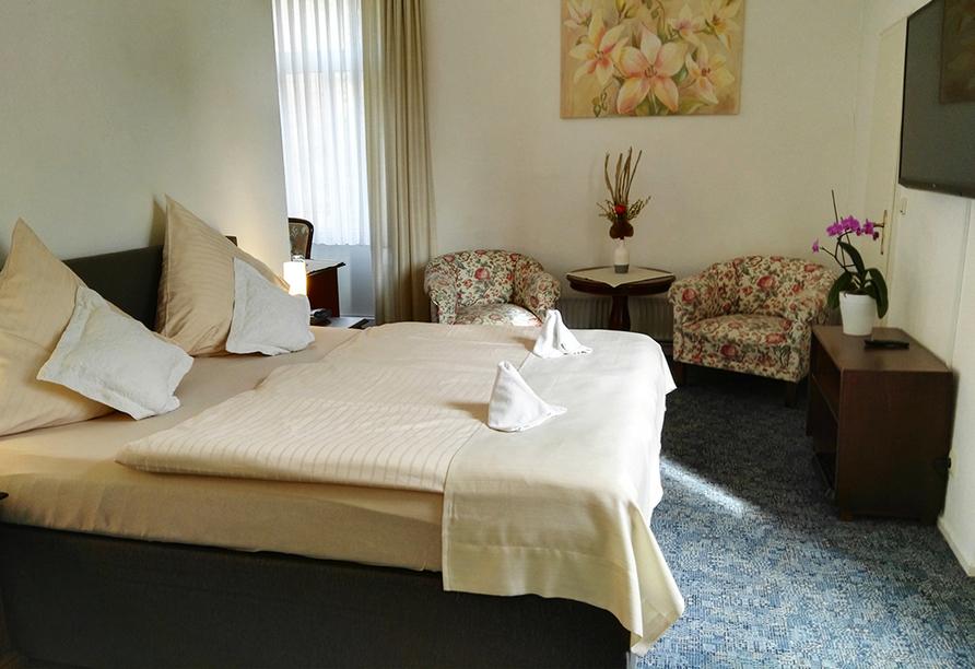 Hotel Carolinenhof in Bad Pyrmont, Doppelzimmer