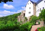 Hotel Lugsteinhof in Altenberg Zinnwald im Erzgebirge Ausflugsziel Schloss Lauenstein