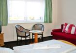 Hotel Lugsteinhof in Altenberg Zinnwald im Erzgebirge, Zimmerbeispiel