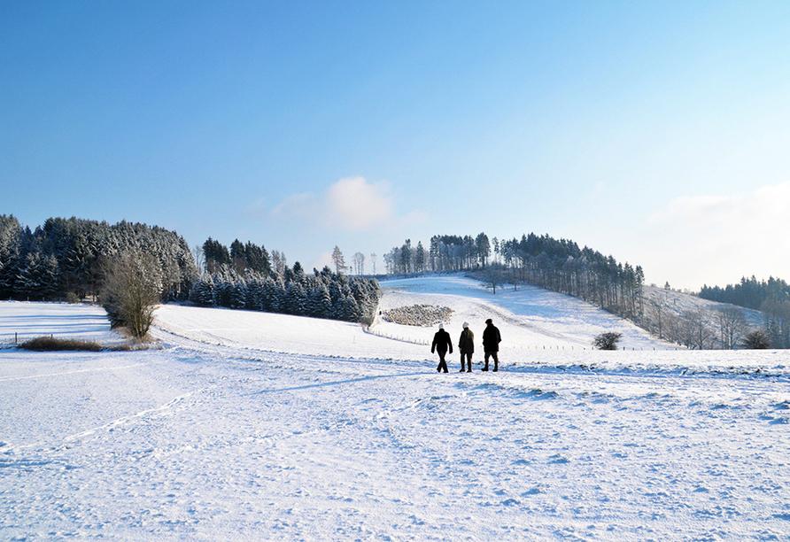 Landhotel Gödeke, Wandern im Winter