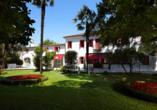 Hotel Villa Patriarca, Außenansicht