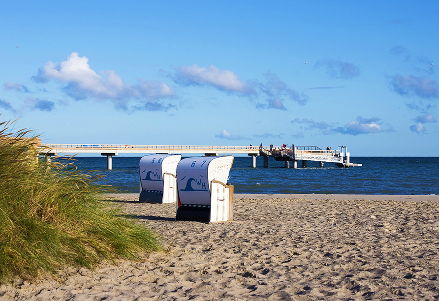Ghotel hotel & living Kiel in Kiel an der Ostsee, Ausflugsziel Heiligenhafen