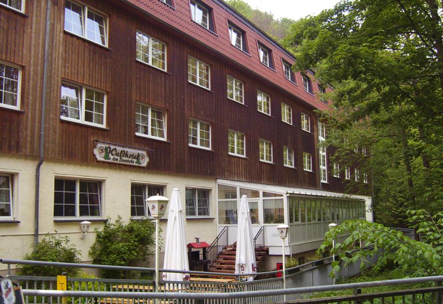Waldhotel Am Ilsestein in Ilsenburg, Außenansicht