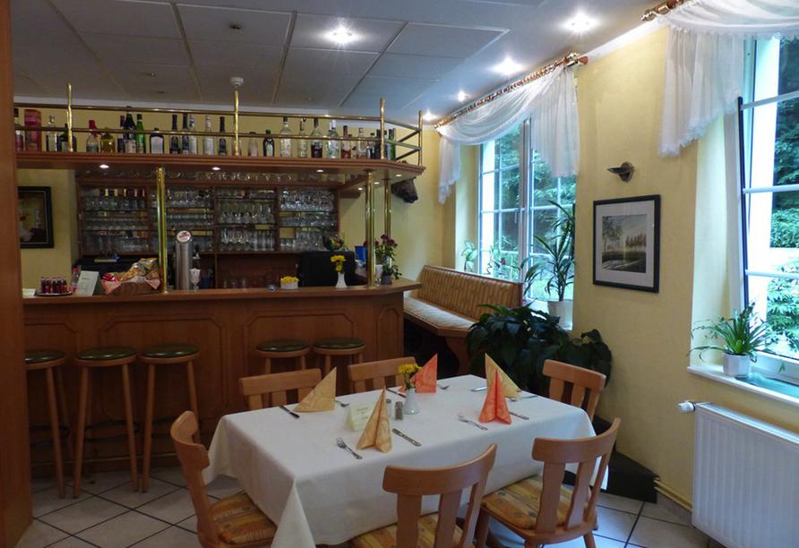 Waldhotel Am Ilsestein in Ilsenburg, Bar
