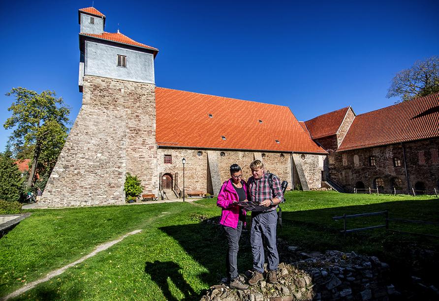 Waldhotel am Ilstesein in Ilseburg, Kloster Ilsenburg