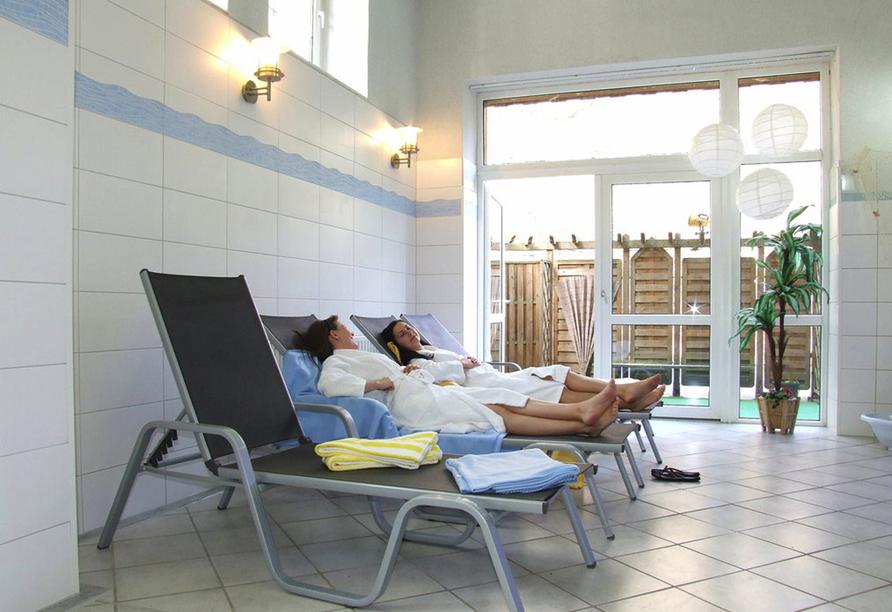 Waldhotel Am Ilsestein in Ilsenburg, Wellnessbereich