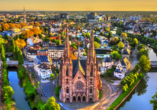 Ates Hotel, St. Paul Kirche in Straßburg