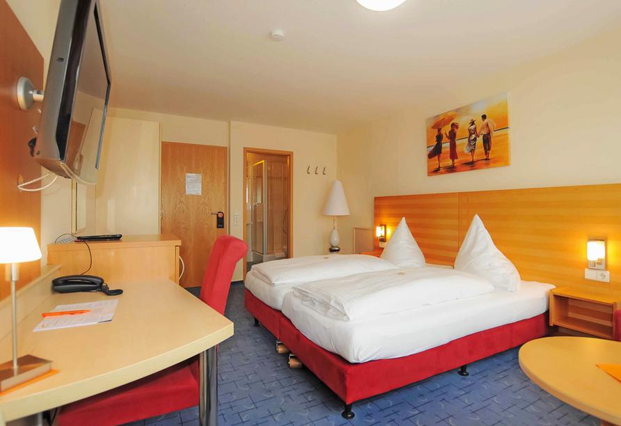 Ates Hotel, Zimmer