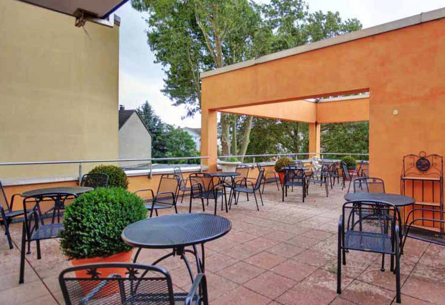 Ates Hotel, Terrasse