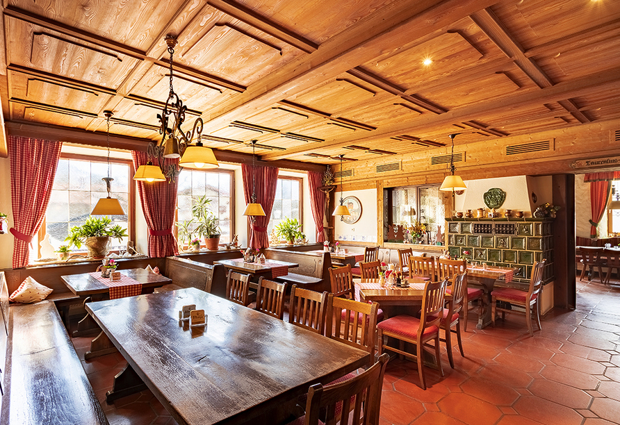 Landgasthof zur Post in Schleching, Restaurant