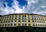 Hotel Elisabethpark in Bad Gastein im Salzburger Land, Außenansicht