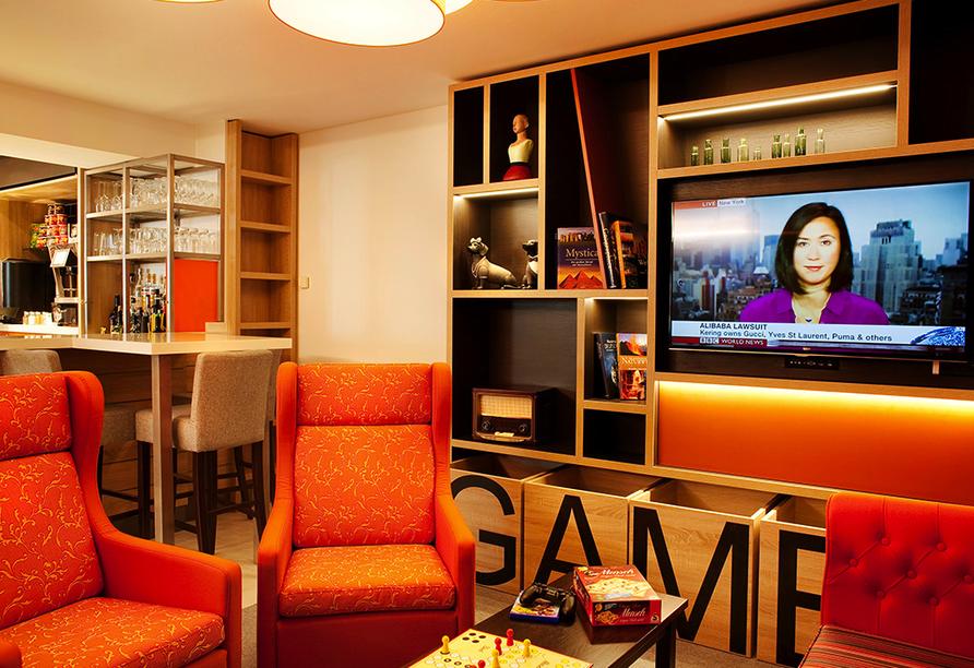Holiday Inn Dresden - City South, Spielecke