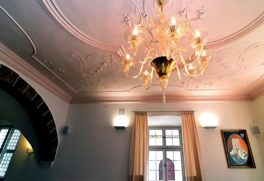 Hotel Gasthof Alte Vogtei in Wolframs-Eschenbach, Kronleuchter