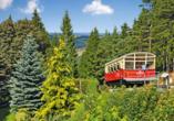 Hotel Weißer Hirsch, Bergbahn Oberweißbach