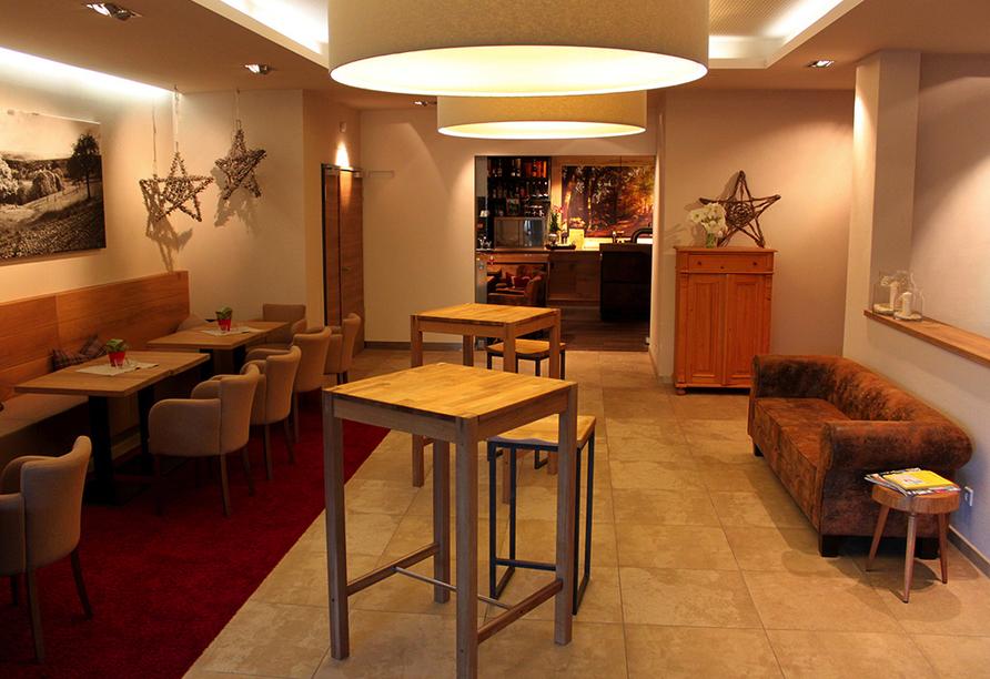 Müller's Landhotel in Mespelbrunn, Lobbybereich