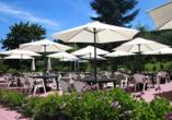 Hotel Am Kurpark Brilon, Terrasse
