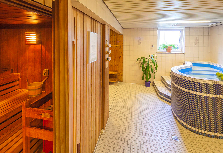 Hotel Tannenhof in Haiger, Relaxbereich