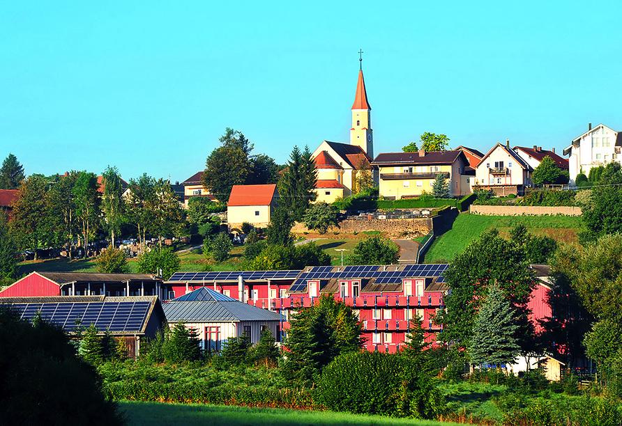 Reiterhof Runding, Außenansicht