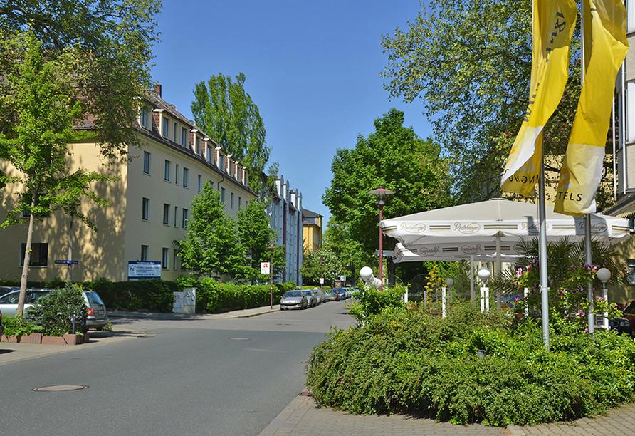 Ringhotel Residenz Alt Dresden, Außenansicht