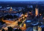 ACHAT Comfort Messe-Leipzig, Leipzig bei Nacht