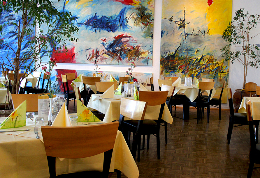 Hotel an der Therme Bad Sulza in Bad Sulza in Thüringen Restaurant