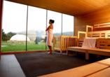 Hotel an der Therme Bad Sulza in Bad Sulza in Thüringen  Sauna