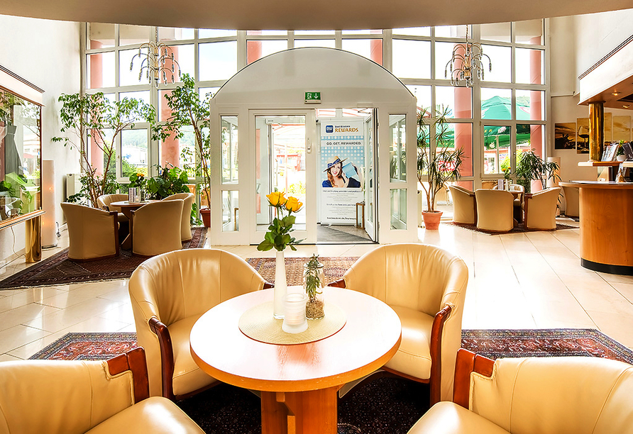 Best Western Parkhotel Leiß in Lohr am Main, Foyer