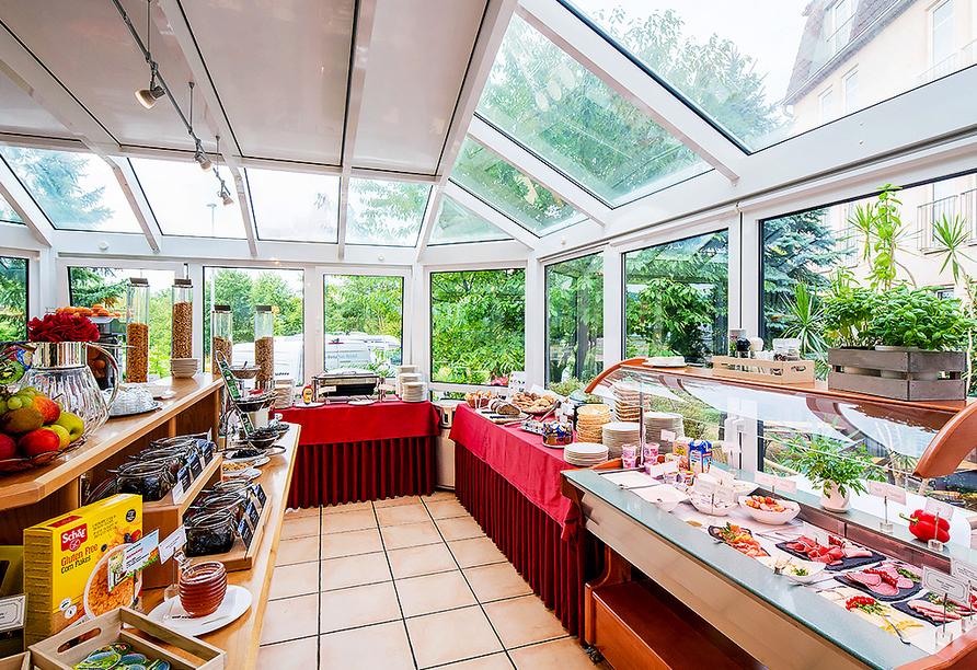 Best Western Parkhotel Leiß in Lohr am Main, Frühstück