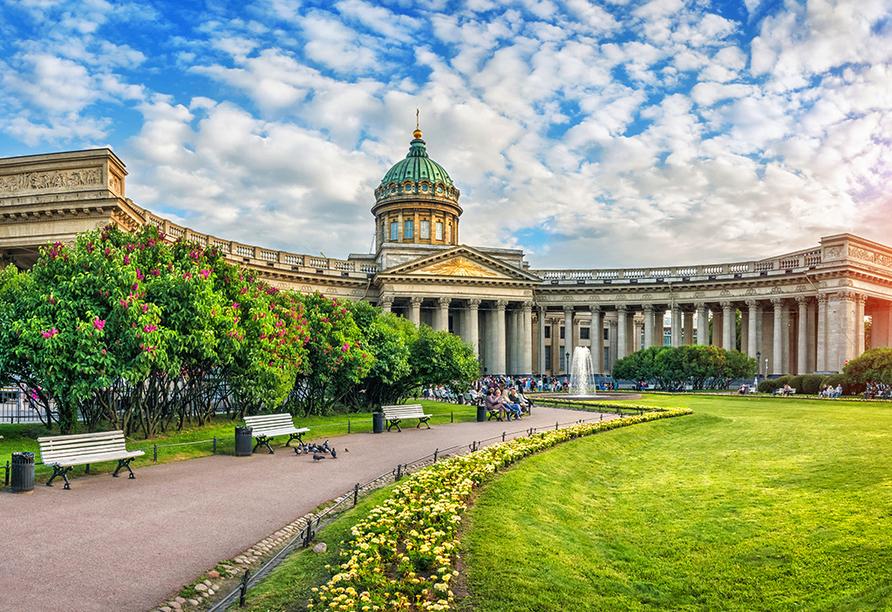 St. Petersburg, Venedig des Nordens, Kasaner Kathedrale