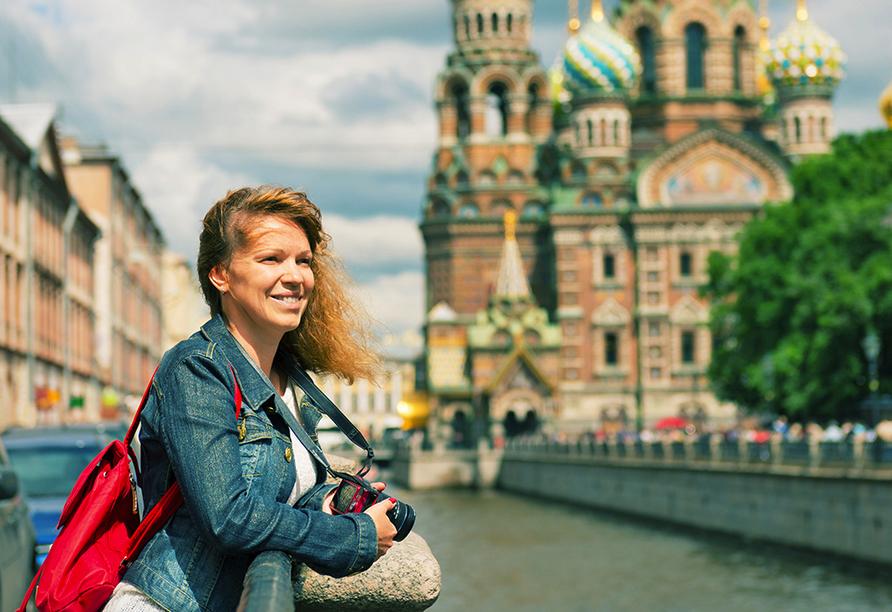 St. Petersburg, Venedig des Nordens, Erlöserkirche