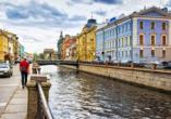 St. Petersburg, Venedig des Nordens, Griboyedov Kanal