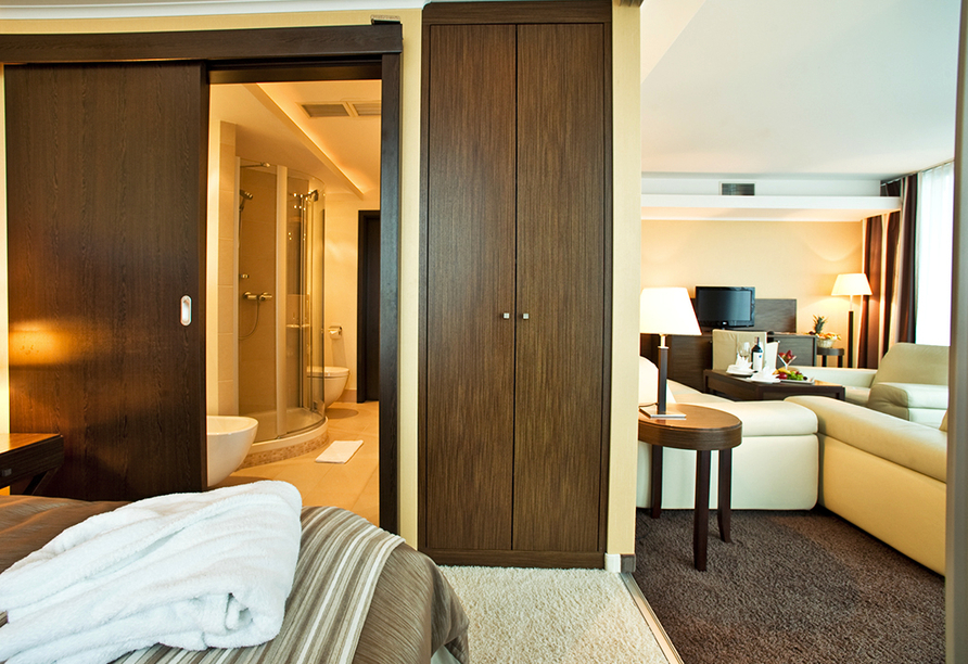 HAVET Hotel Resort & Spa, Dwirzyno, Kolberger Deep, Polnische Ostsee, Zimmer