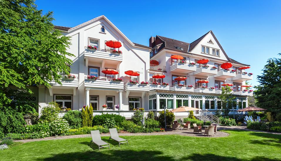 Hotel Noltmann-Peters in Bad Rothenfelde, Garten